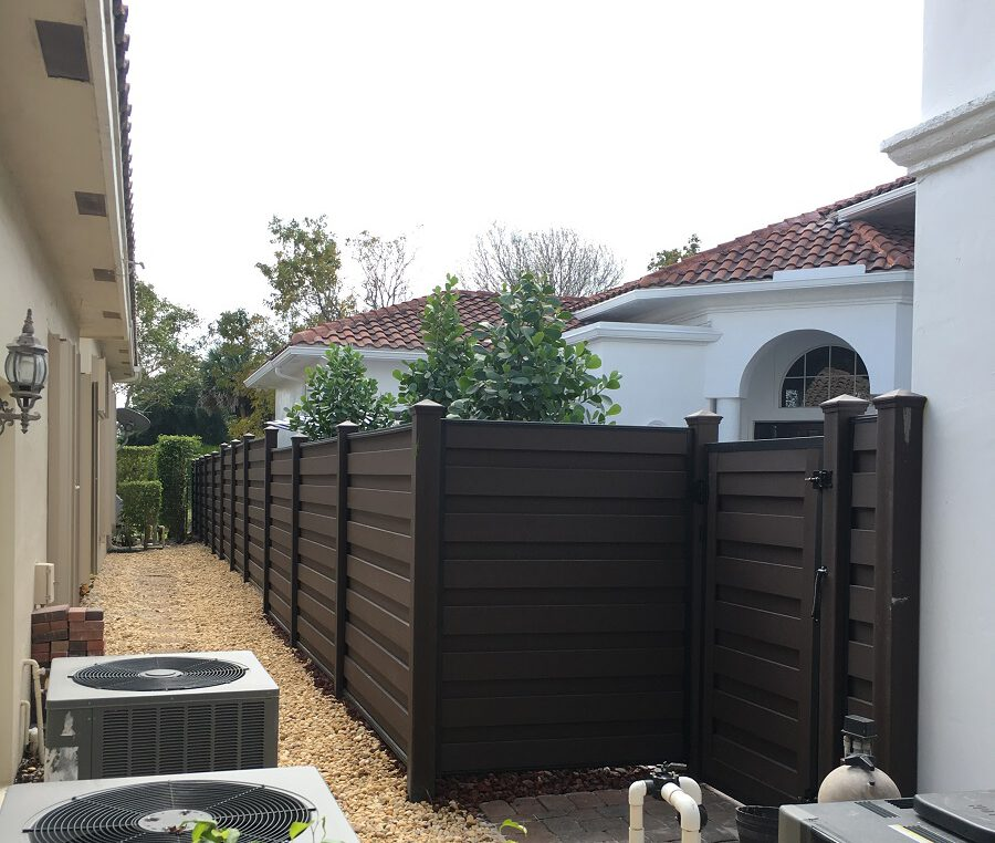 Hillsborough County Iron Fence Installation