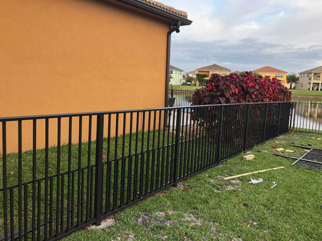 fence installation service in Tampa Florida areas